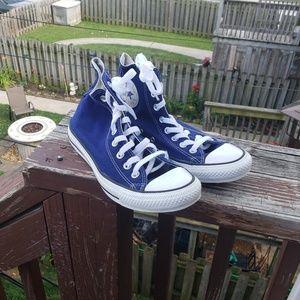 Converse Blue Chuck Taylor's
